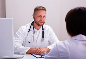 pharmacist consultation concept